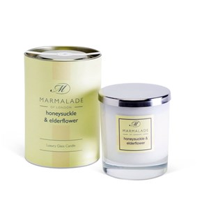 marmalade of london large glass candle