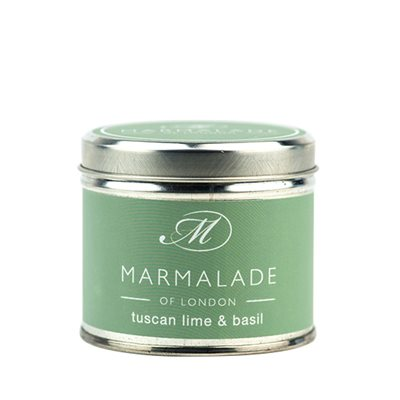 Tuscan Lime Basil Medium Candle