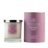 Pink Pepper and Plum Large Candle