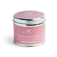 Rhubarb and Peony Medium Tin